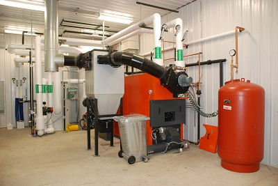 Biomass Boiler Research Facility